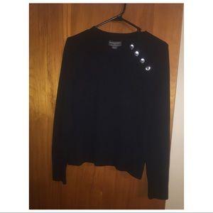 Banana Republic Black Sweater Size M